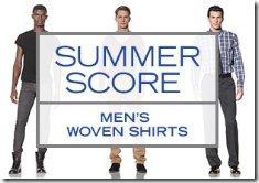 70 - 80% OFF MEN'S WOVEN SHIRTS 718