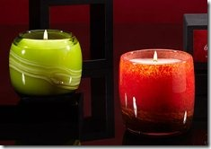 ARTISANAL GLASS CANDLES BY D.L. & CO. 717
