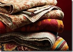 HANDPICKED IN INDIA KANTHA THROWS 710